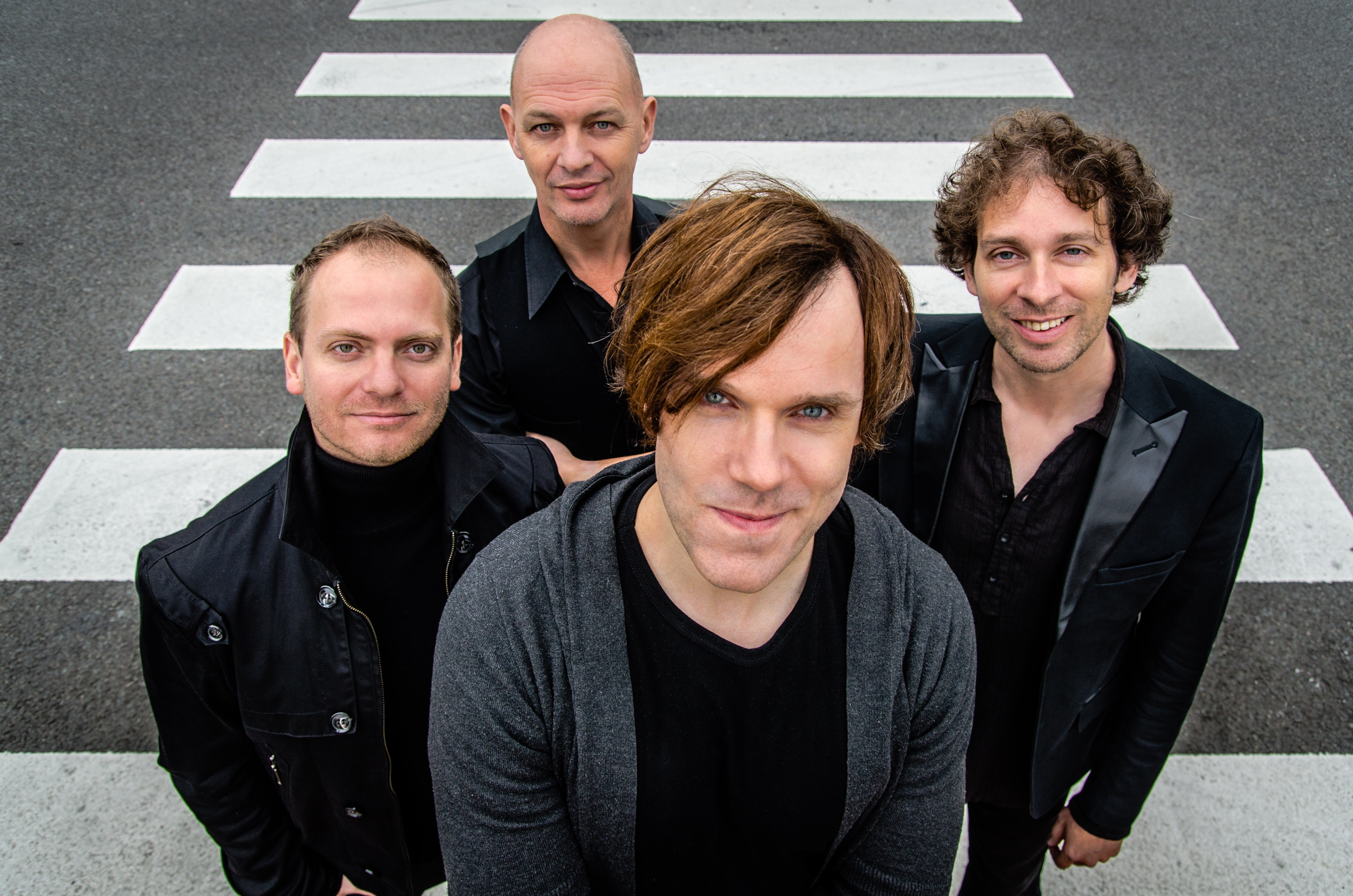 Rock4 fotoshoot voor het Abbey Road project, Gronsveld 18-09-2016
